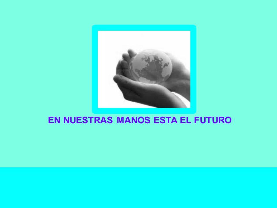 EN NUESTRAS MANOS ESTA EL FUTURO