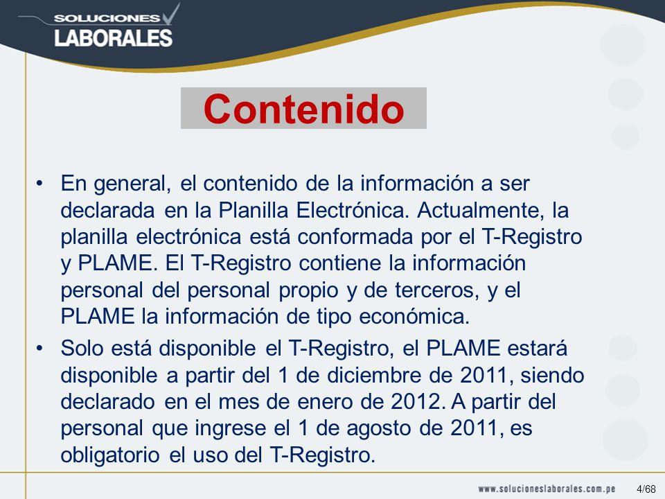 Domicilio fiscal y otros anexos Las empresas que cuenten con más de un centro de trabajo o de operaciones debe declararlo en la planilla electrónica y en el T-Registro.