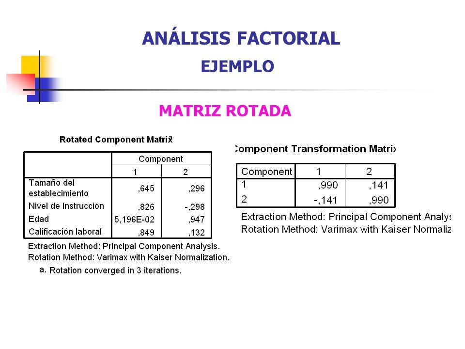 MATRIZ ROTADA ANÁLISIS FACTORIAL EJEMPLO