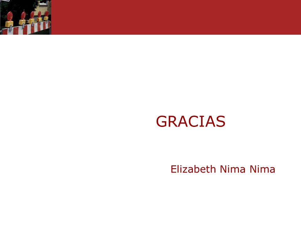 GRACIAS Elizabeth Nima Nima