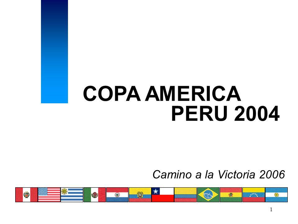 1 COPA AMERICA PERU 2004 Camino a la Victoria 2006