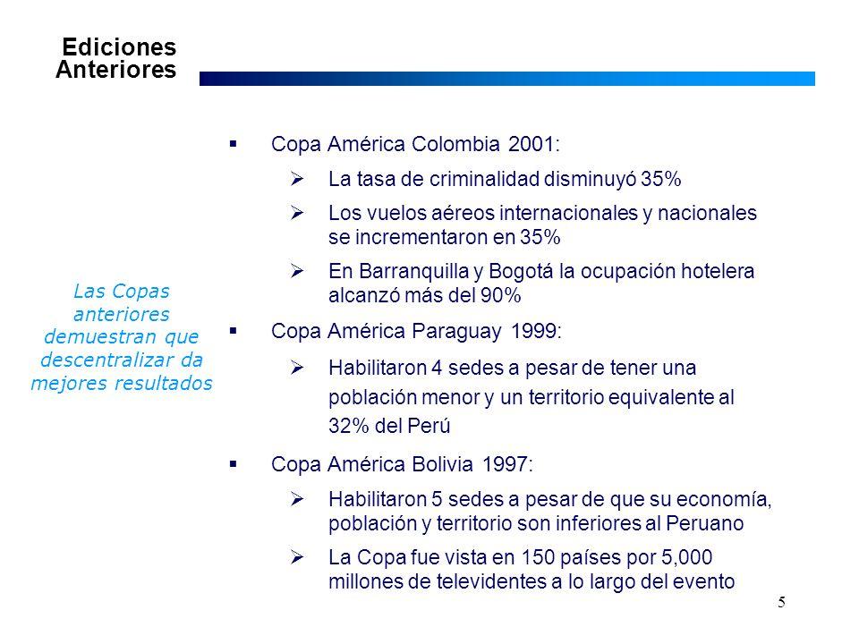 16 Anexo 1 Cuadros de gastos relacionados al flujo turístico y a las delegaciones e IGV generado: