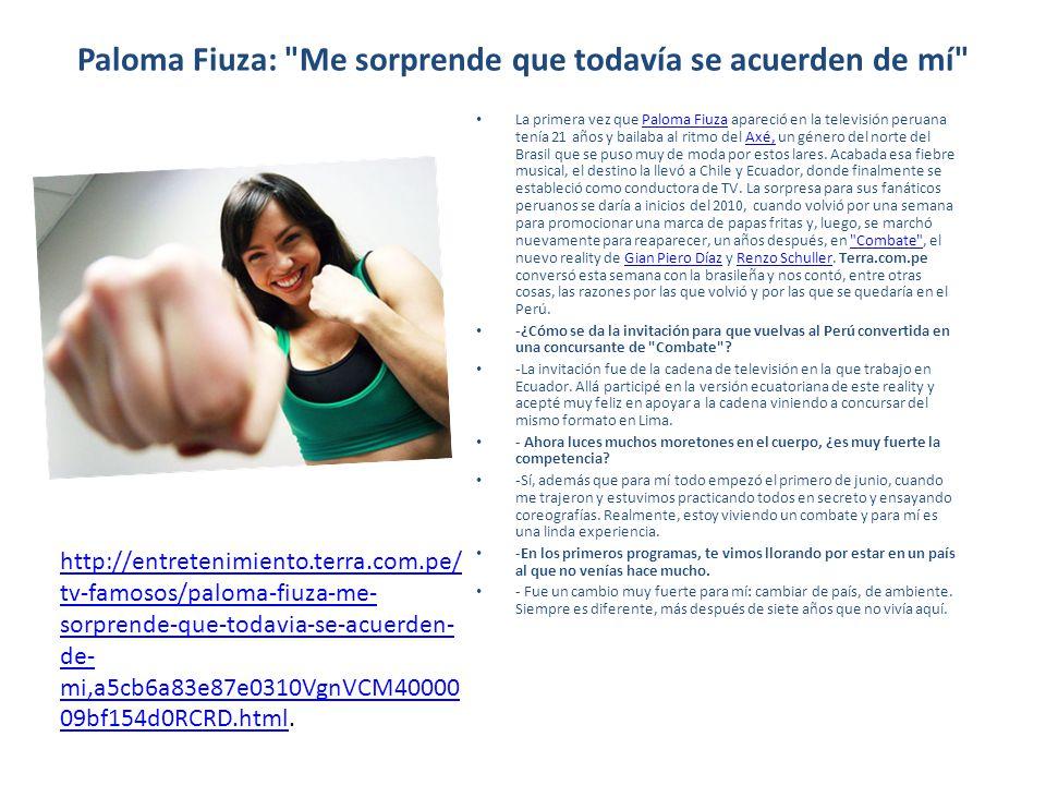 Paloma Fiuza: