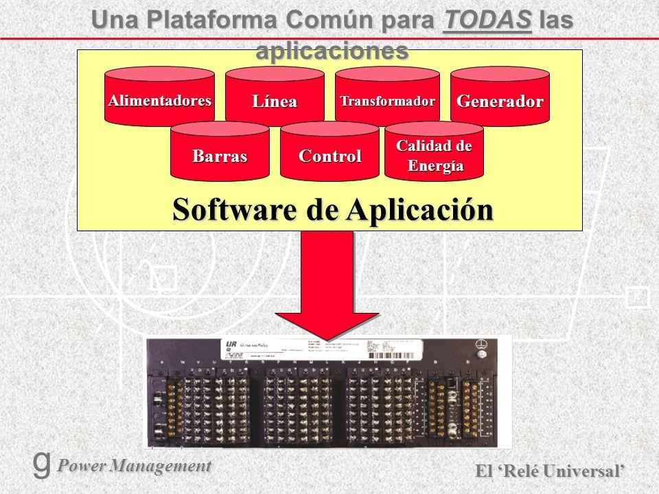 X R Ø X R El Relé Universal Power Management g Power Management 16 Arquitectura FlexLogic del UR RemoteInputs