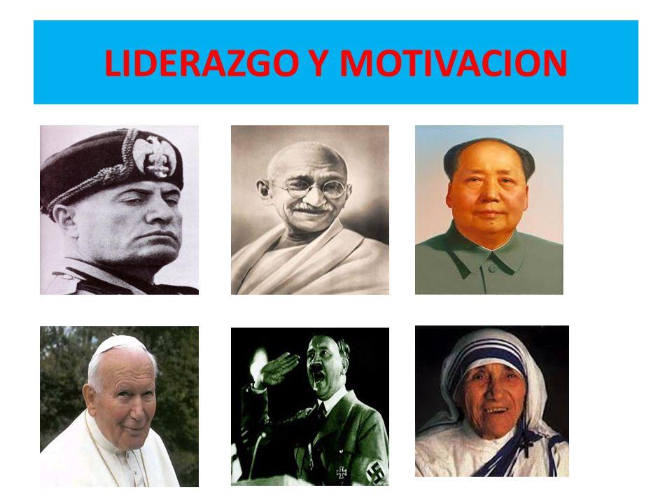 LIDERAZGO Y MOTIVACION