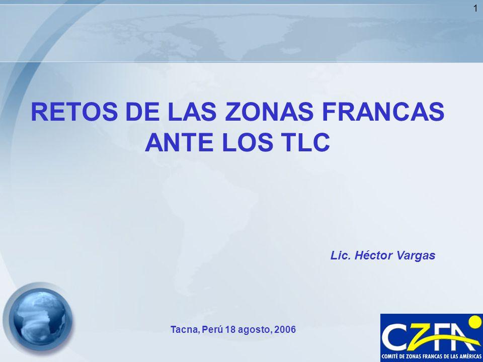 2 Comité de Zonas Francas de las Américas Zonas Francas en el Mundo-2005 Área Geográfica No.Zfs Empleo No.