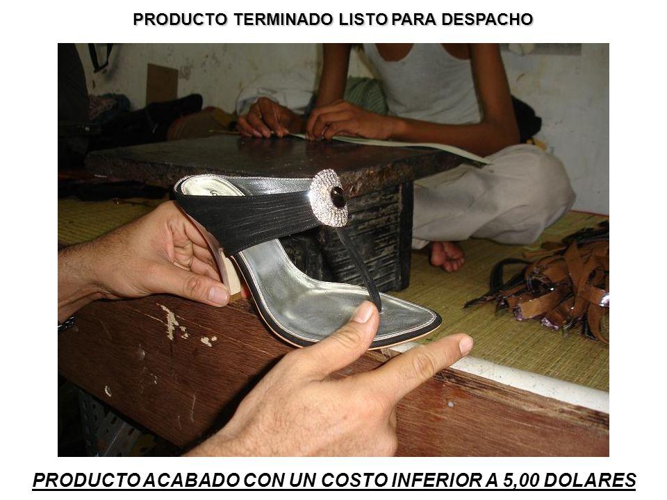 PRODUCTO TERMINADO LISTO PARA DESPACHO PRODUCTO ACABADO CON UN COSTO INFERIOR A 5,00 DOLARES