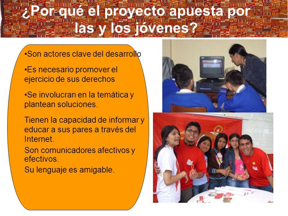 Jóvenes con capacidades y actitudes para prevenir el VIH- sida usando las TICs y potencialidades para insertarse laboralmente Participación juvenil en