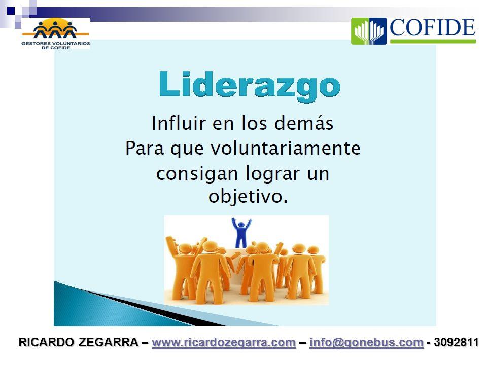 EMPRENDIMIENTO Y LIDERAZGO Ricardo Zegarra Villalobos Asesor y Consultor de Empresas
