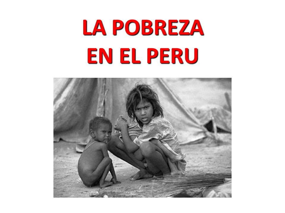 La pobreza es una situación en la que no es posible satisfacer necesidades básicas; por eso la pobreza esta ligada estrechamente al empleo, a los ingresos por trabajo o a la distribución de los recursos o el patrimonio; el analfabetismo es una de las principales consecuencias de la pobreza.