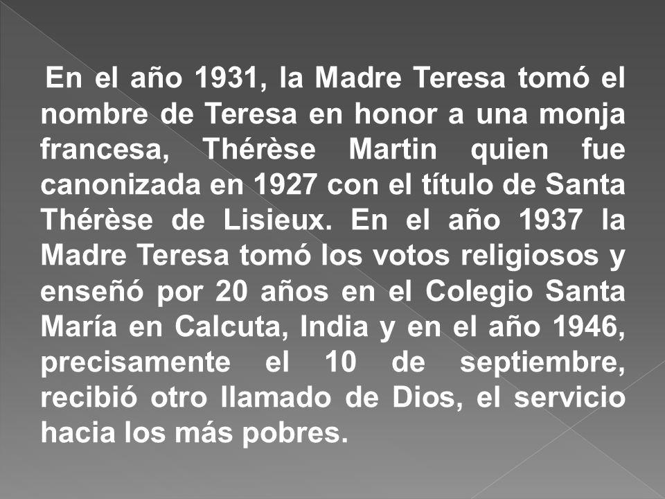 DESEO DE SER MONJA: Agnes y su hermana participaban de las labores de la parroquia en sus horas libres, no eran del todo habituales para una chica de