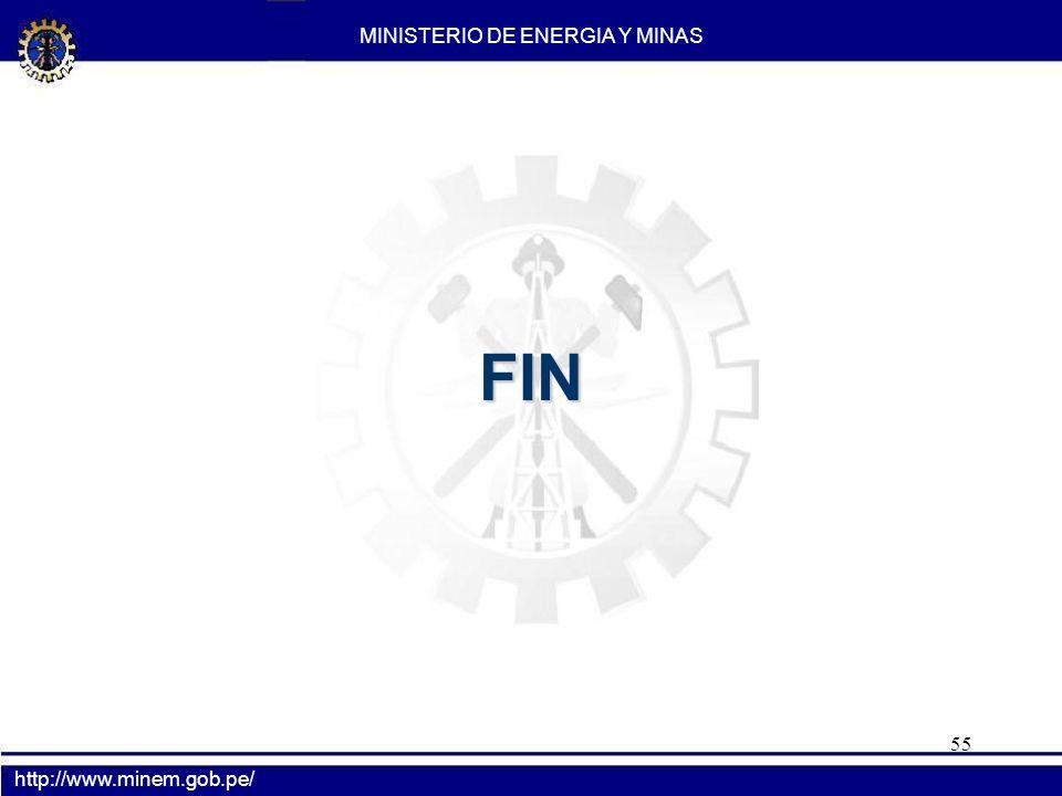 55 FIN MINISTERIO DE ENERGIA Y MINAS http://www.minem.gob.pe/
