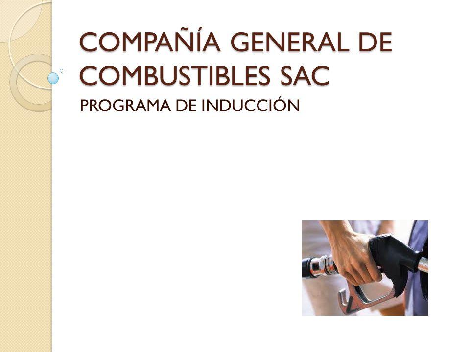 COMPAÑÍA GENERAL DE COMBUSTIBLES SAC PROGRAMA DE INDUCCIÓN