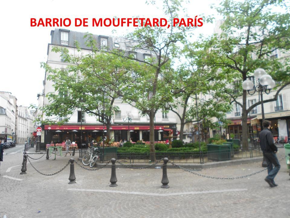 BARRIO DE MOUFFETARD, PARÍS