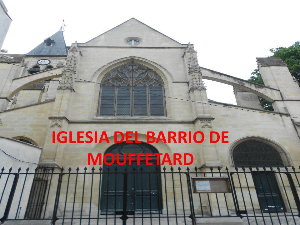 IGLESIA DEL BARRIO DE MOUFFETARD