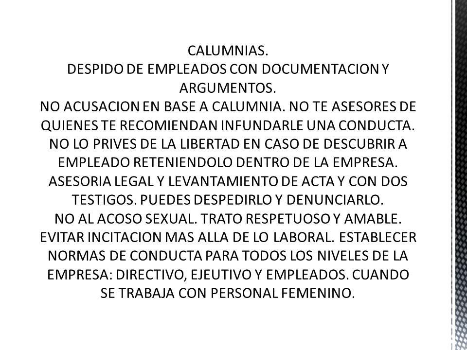 Contrato de trabajo No a la discriminación de personas Arriesgándose a violar los derechos