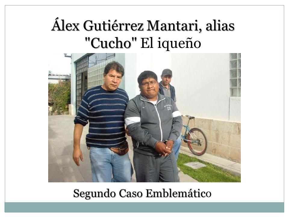 Algo + Sorprendente Predios policiales corresponde al grupo Quispe y esposa María Bellido Este figura en Dirandro Cabeza de una mafia que acopia droga