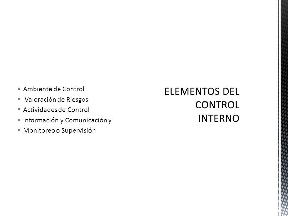Efectividad y Eficiencia en sus Operaciones Control de Riesgos Financieros Operativos y Administrativos Confiabilidad de la Información Financiera Cum