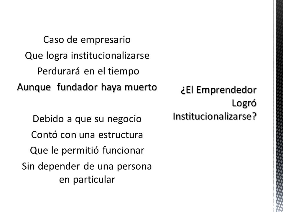 Formato especial de autoempleo Más que en categoría de Empresario En muchos casos se trata de personas No les gusta delegar tareas En este caso Organi