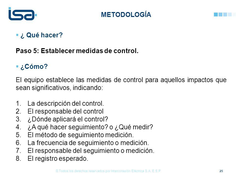 25 © Todos los derechos reservados por Interconexión Eléctrica S.A.
