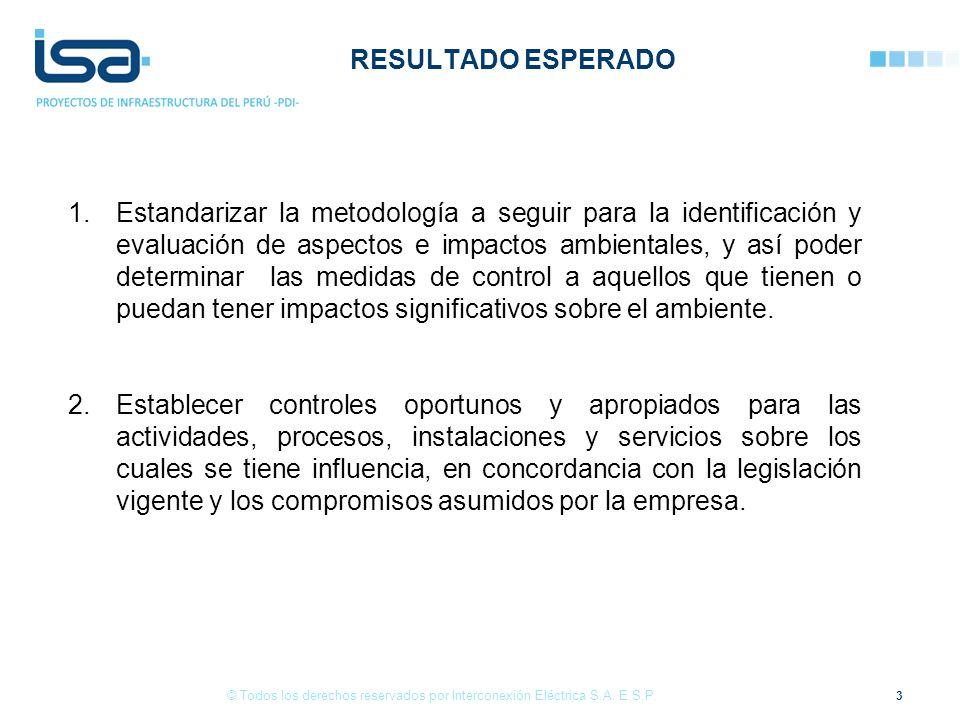 24 © Todos los derechos reservados por Interconexión Eléctrica S.A. E.S.P.