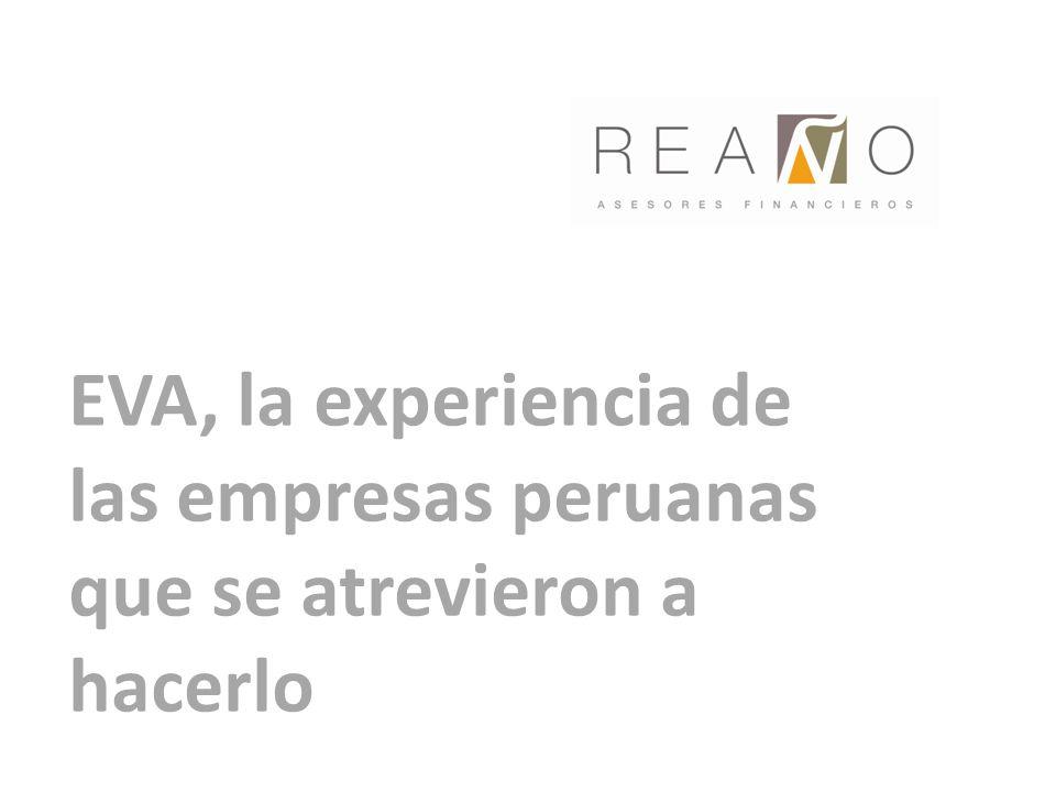 EVA, la experiencia de las empresas peruanas que se atrevieron a hacerlo