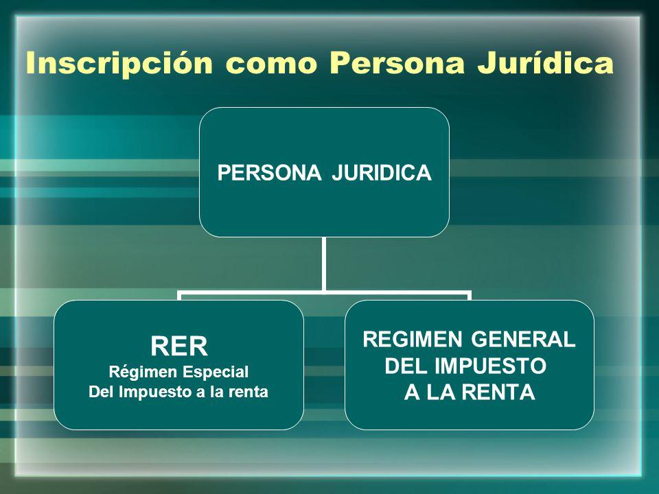 Régimen General del Impuesto a la Renta Comprende a las Personas Naturales y Jurídicas que generen rentas de tercera categoría.