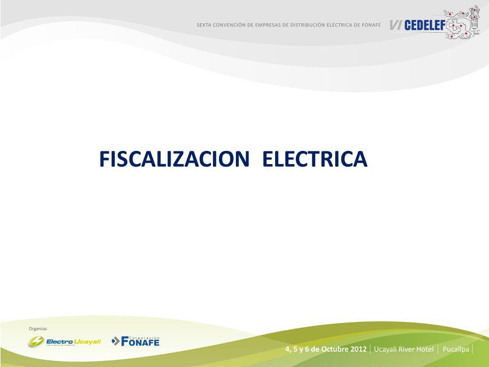 FISCALIZACION ELECTRICA
