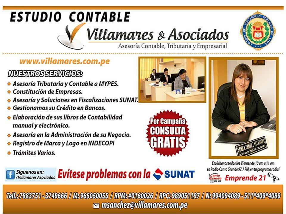 VISITANOS EN EL FACEBOOK VILLAMARES ASOCIADOS-ESTUDIO CONTABLE TRIBUTARIO