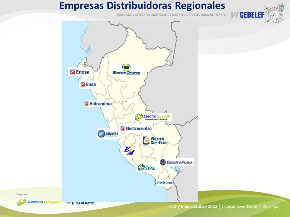 Empresas Distribuidoras Regionales