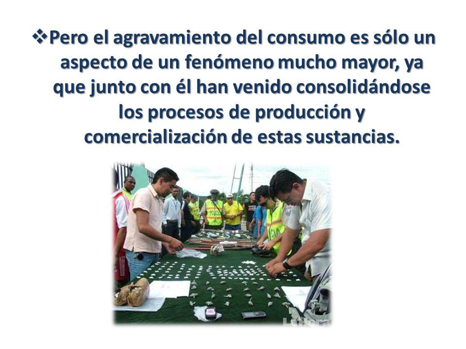 Pero el agravamiento del consumo es sólo un aspecto de un fenómeno mucho mayor, ya que junto con él han venido consolidándose los procesos de producci