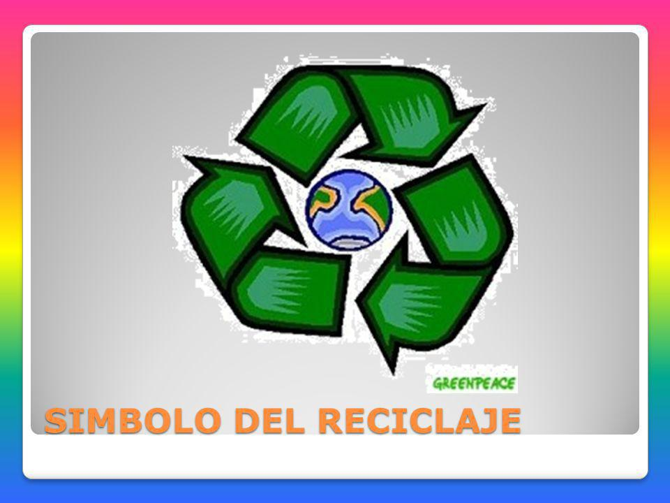 SIMBOLO DEL RECICLAJE