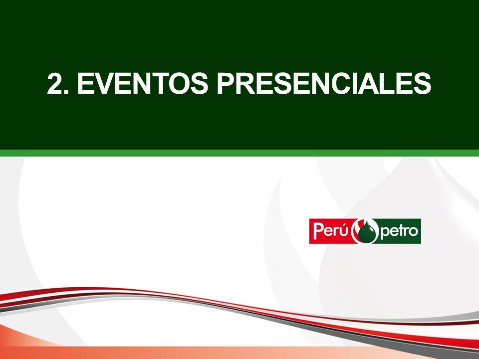 2. EVENTOS PRESENCIALES