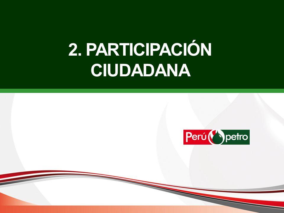 2. PARTICIPACIÓN CIUDADANA