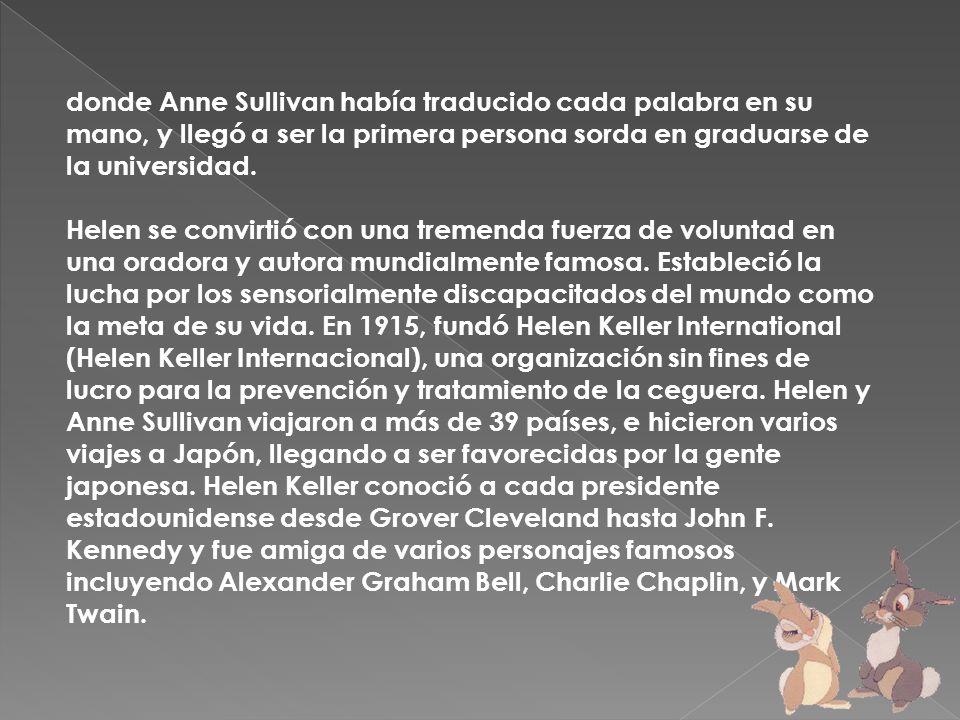 {mospagebreak} Hellen Keller fue miembro activo del partido socialista.