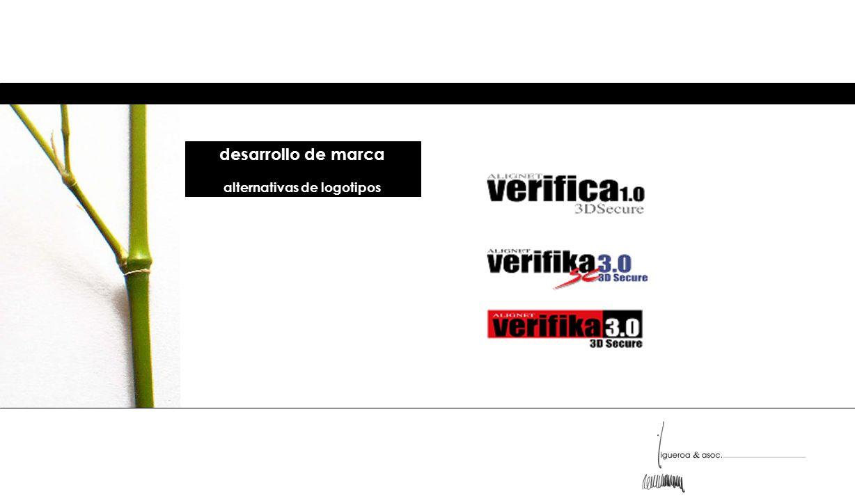 desarrollo de marca alternativas de logotipos