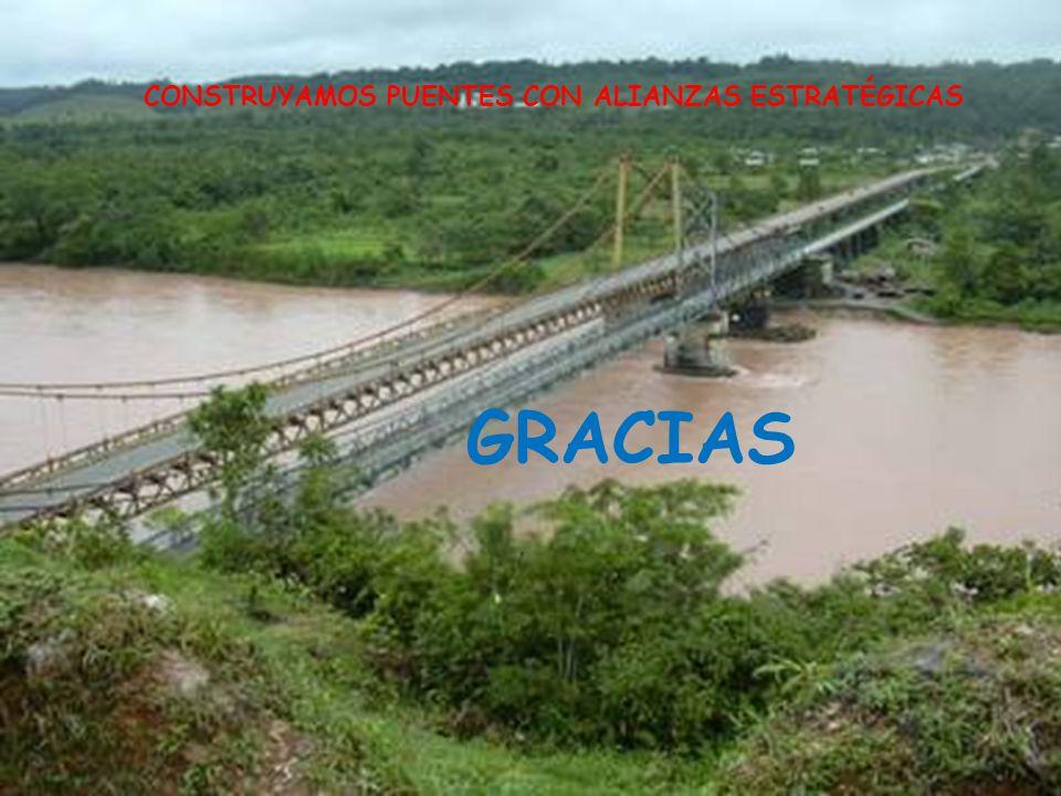 CONSTRUYAMOS PUENTES CON ALIANZAS ESTRATÉGICAS GRACIAS