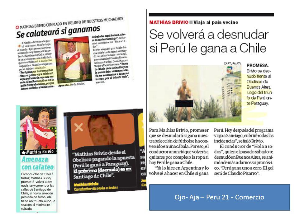 Ojo- Aja – Peru 21 - Comercio