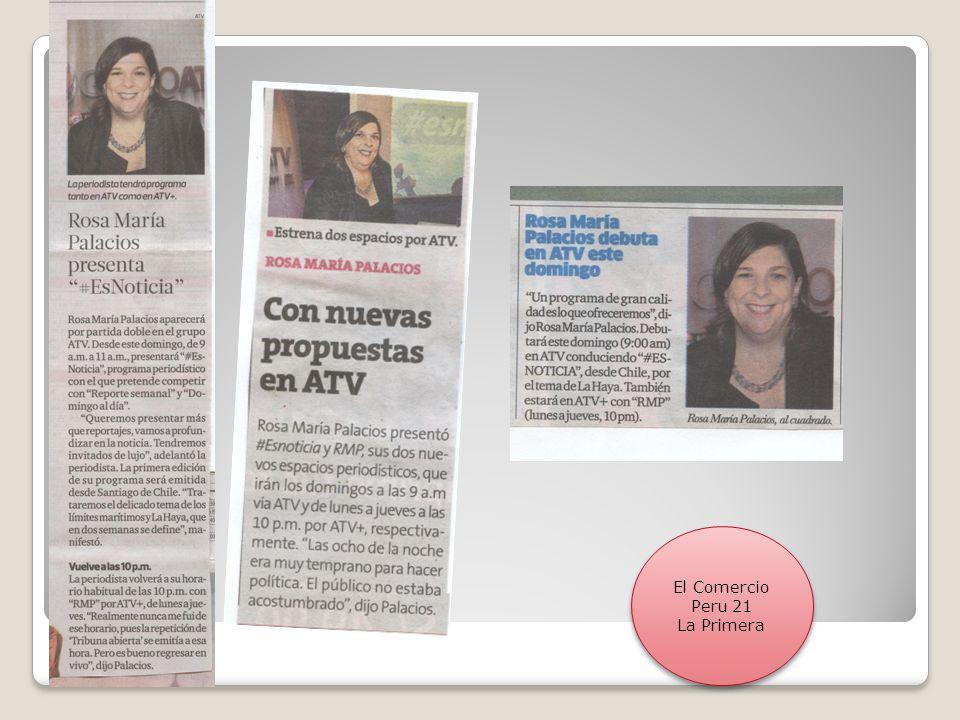 El Comercio Peru 21 La Primera El Comercio Peru 21 La Primera