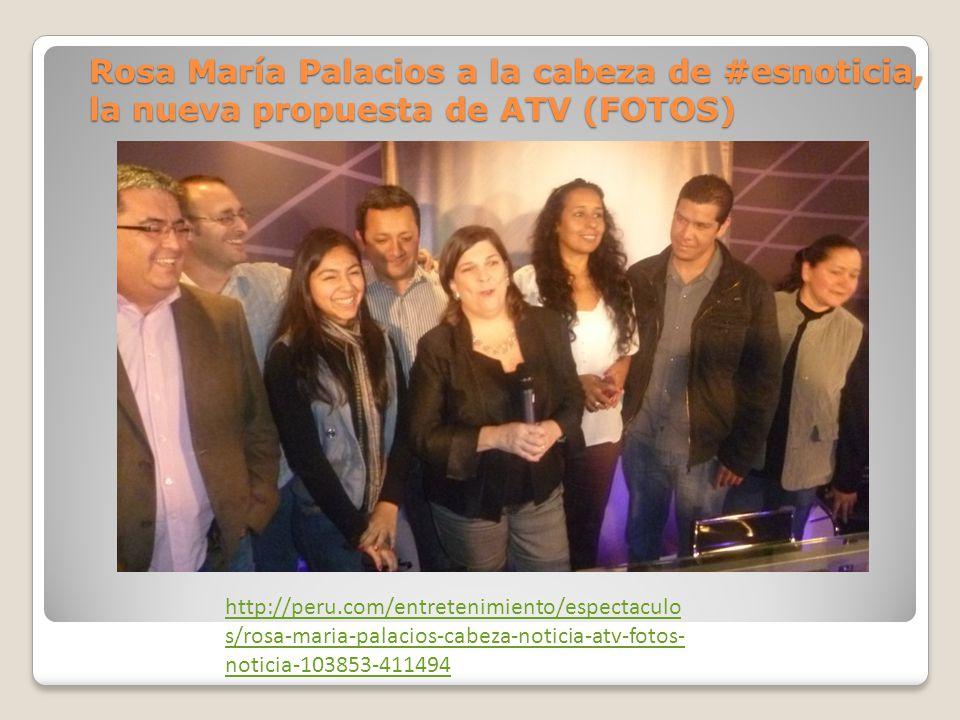 Rosa María Palacios a la cabeza de #esnoticia, la nueva propuesta de ATV (FOTOS) http://peru.com/entretenimiento/espectaculo s/rosa-maria-palacios-cabeza-noticia-atv-fotos- noticia-103853-411494