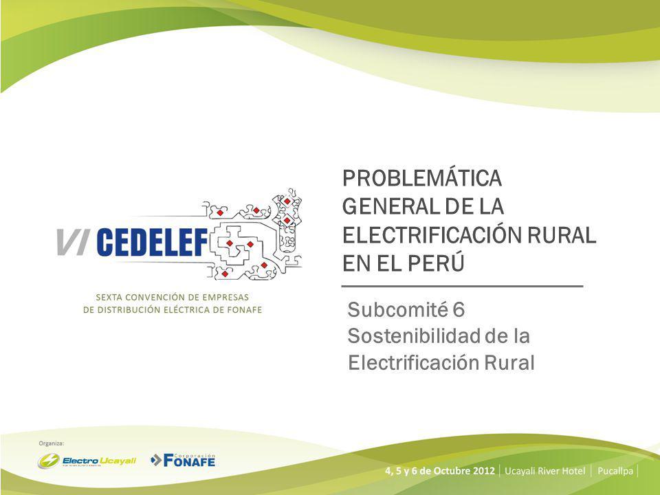Ejecutadas por los Gobiernos Regionales, Locales y el MINEM.