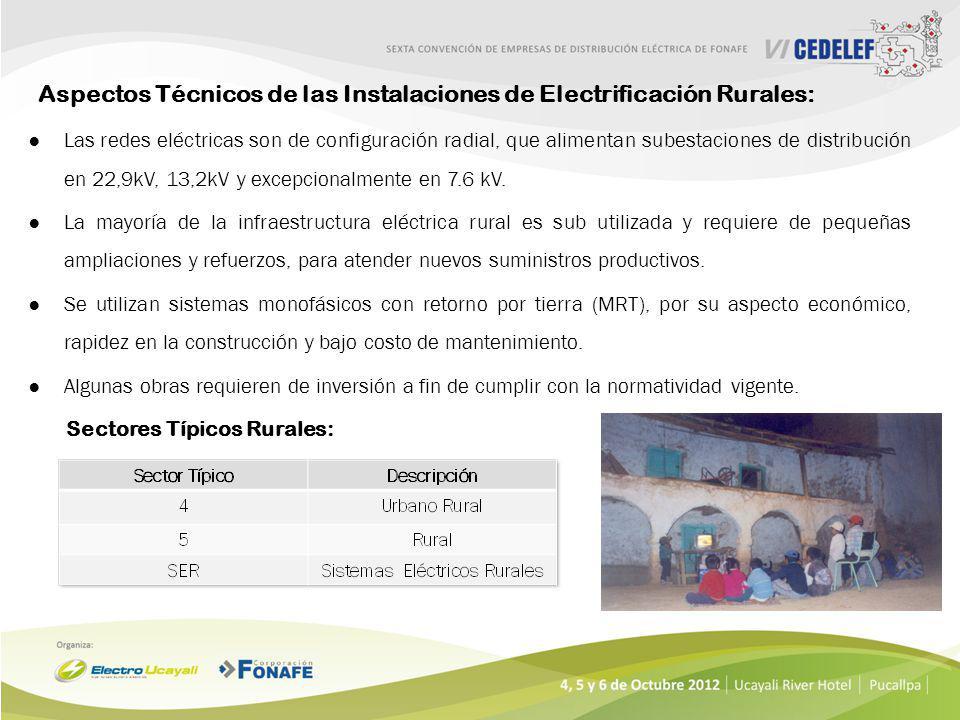 Alternativamente para zonas rurales muy aisladas se viene implementando Sistema Fotovoltaico Domiciliario –SFD en forma creciente, con una expectativa
