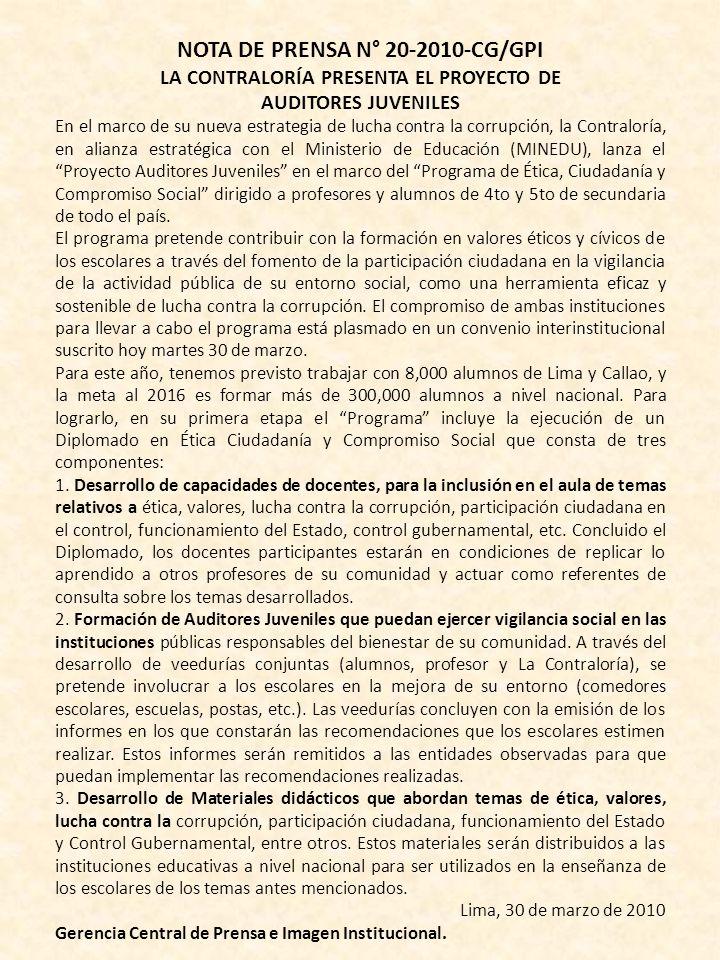 COLEGIO DE LICENCIADOS EN ADMINISTRACIÓN CONSEJO DIRECTIVO NACIONAL DIRECCIÓN NACIONAL DE INVESTIGACIÓN CIENTÍFICA Y TECNOLÓGICA TALLER DE ORATORIA PA