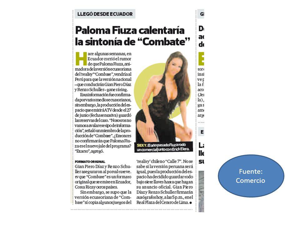 Fuente: Peru 21 Correo