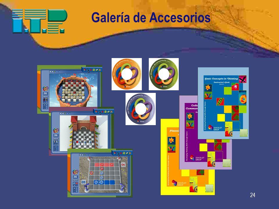 24 Galería de Accesorios