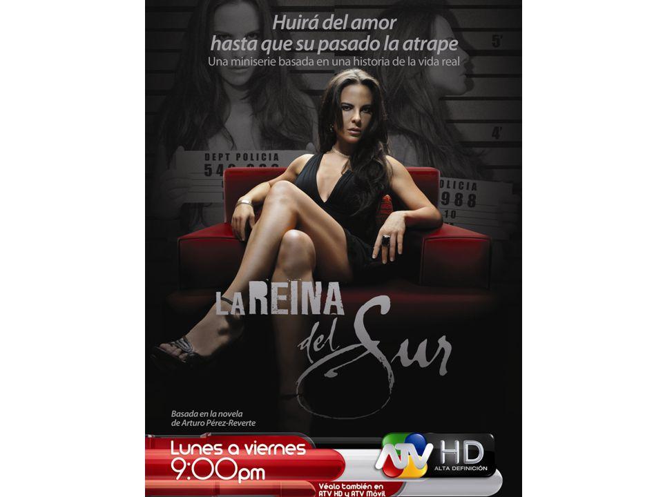Protagonista de La Reina del Sur envió saludo a peruanos La reconocida actriz Kate del Castillo se mostró muy entusiasmada con el gran estreno de la telenovela La Reina del Sur, donde interpreta a Teresa Mendoza.