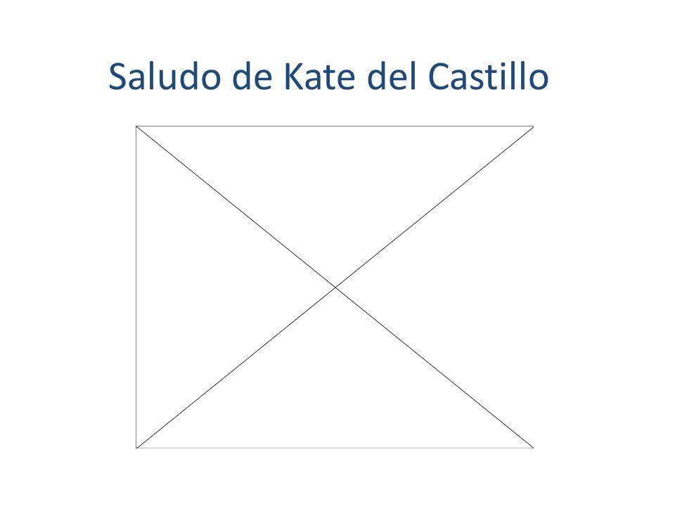 Saludo de Kate del Castillo
