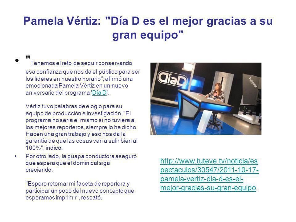 http://www.tuteve.tv/fotos/espectaculos/30546/2011-10-17-fotos-- dia-d,-un-ano-mas-como-el-programa-lider-de-los-domingos.http://www.tuteve.tv/fotos/espectaculos/30546/2011-10-17-fotos-- dia-d,-un-ano-mas-como-el-programa-lider-de-los-domingos http://www.generaccion.com/noticia/125537/dia-d-atv-cumple-6- anos.http://www.generaccion.com/noticia/125537/dia-d-atv-cumple-6- anos http://www.agenciaorbita.org/index.php?option=com_content&view= article&id=17857:dia-d-de-atv-cumple-6- anos&catid=65:television&Itemid=163.http://www.agenciaorbita.org/index.php?option=com_content&view= article&id=17857:dia-d-de-atv-cumple-6- anos&catid=65:television&Itemid=163