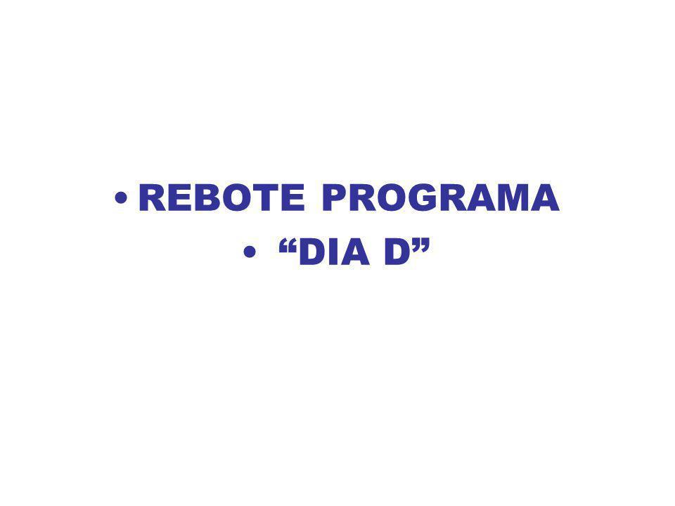 REBOTE PROGRAMA DIA D