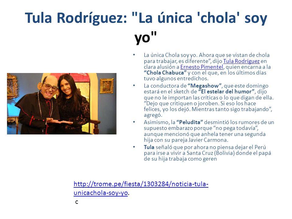 Tula Rodríguez: